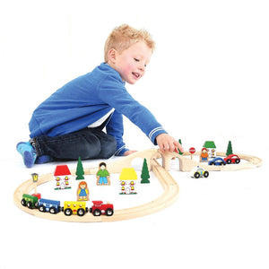 Figure of Eight Train Set - Razberry Kids Co
