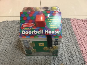 Melissa & Doug Wooden doorbell house - Razberry Kids Co