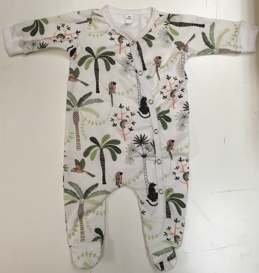 Baba Fishees Romper - Jungle Life - Baby Romper