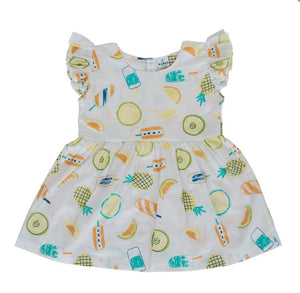 Rosie dress- ice lollies - Razberry Kids Co