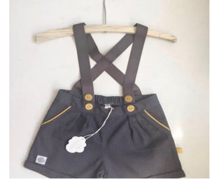 Dapper Harry Playsuit - Razberry Kids Co