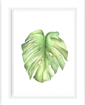 Leaf print - framed or unframed - Razberry Kids Co