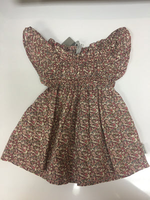 Ditsy print smock dress - Razberry Kids Co