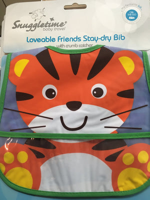 loveable friends stay-dry bib - Razberry Kids Co