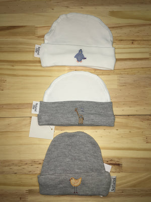 Stitched beanie - Razberry Kids Co