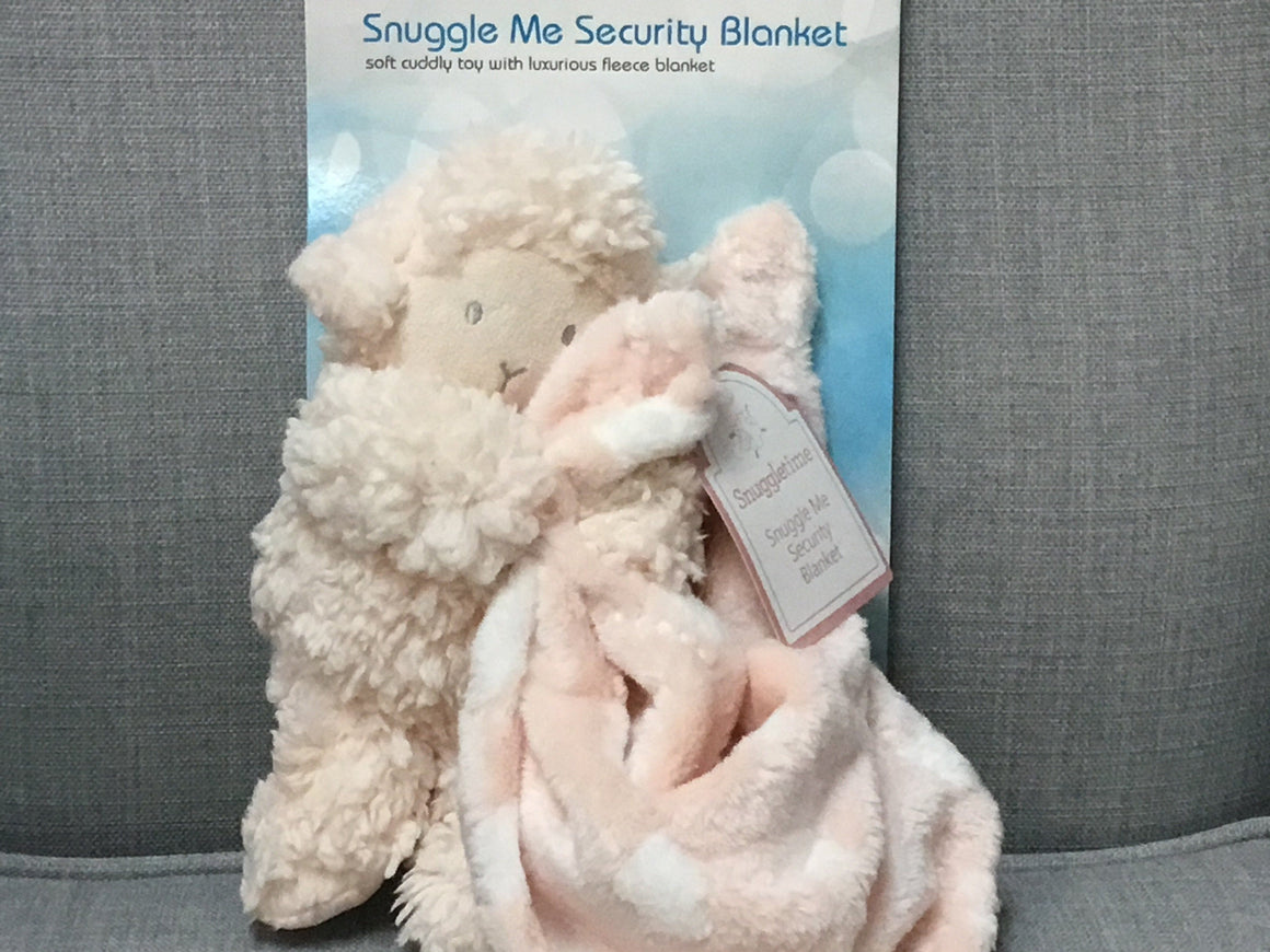 Snuggle me security blanket - Razberry Kids Co