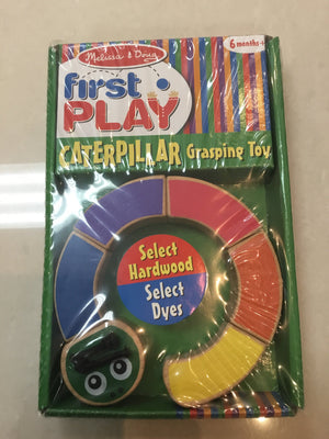 Melissa & Doug First play Caterpillar Grasping Toy 3032 - Razberry Kids Co