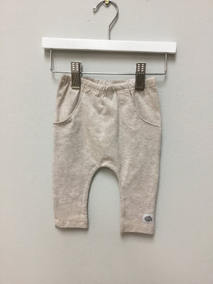 Oatmeal pocket Detail legging - Razberry Kids Co
