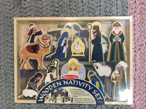 Wooden Nativity Set - Razberry Kids Co
