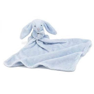 Bashful Blue bunny soother - Razberry Kids Co
