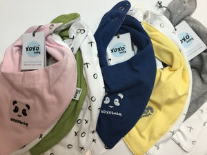 Copy of Xoxo bandana bib - Razberry Kids Co