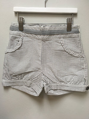 Stripe shorts with grey trim - Razberry Kids Co