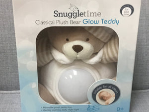 Classical plush bear glow teddy - Razberry Kids Co