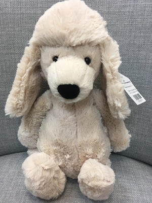 Bashful Poodle Pup - Razberry Kids Co