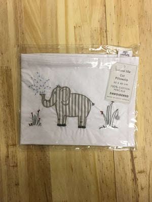 Embroidered pillow slips - Razberry Kids Co