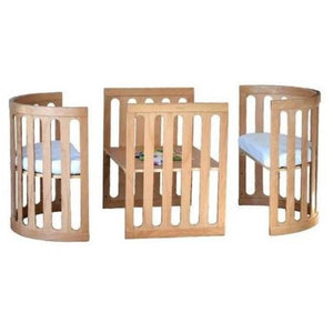 Razberry kids - Sova Classic (Bassinet, Cot, Toddler Bed, Playpen and Adult Table & Chairs)