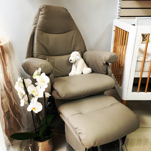 Feeding Glider Chair + Ottoman - Razberry Kids Co