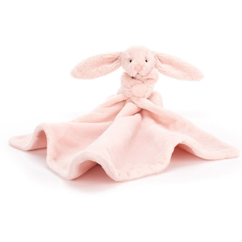 Bashful Bunny soother - PINK - Razberry Kids Co