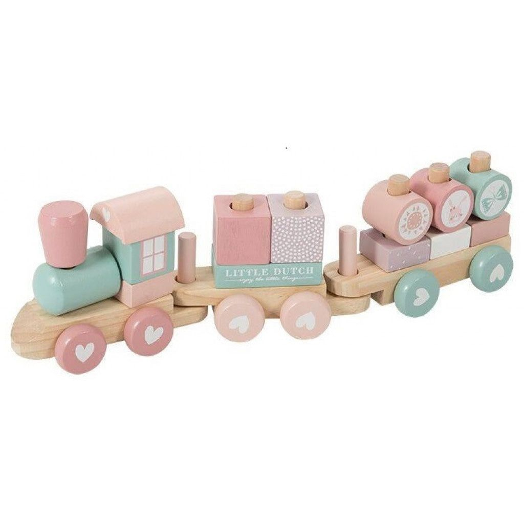 LD Wooden Block Train - Razberry Kids Co