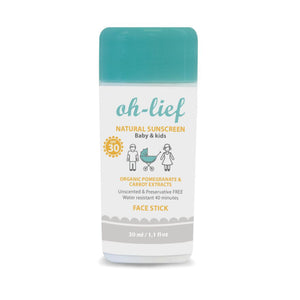 Oh Lief Baby & Kids Sunscreen Face Stick Spf 30 - Razberry Kids Co
