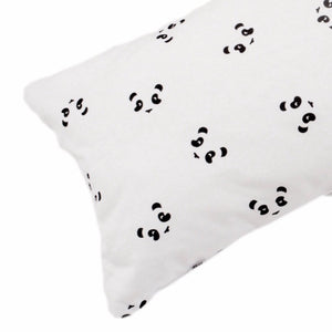 Cot bumper - panda print - Razberry Kids Co