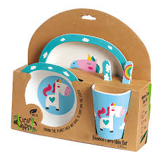 Bamboo Toddler Mealkits - Razberry Kids Co