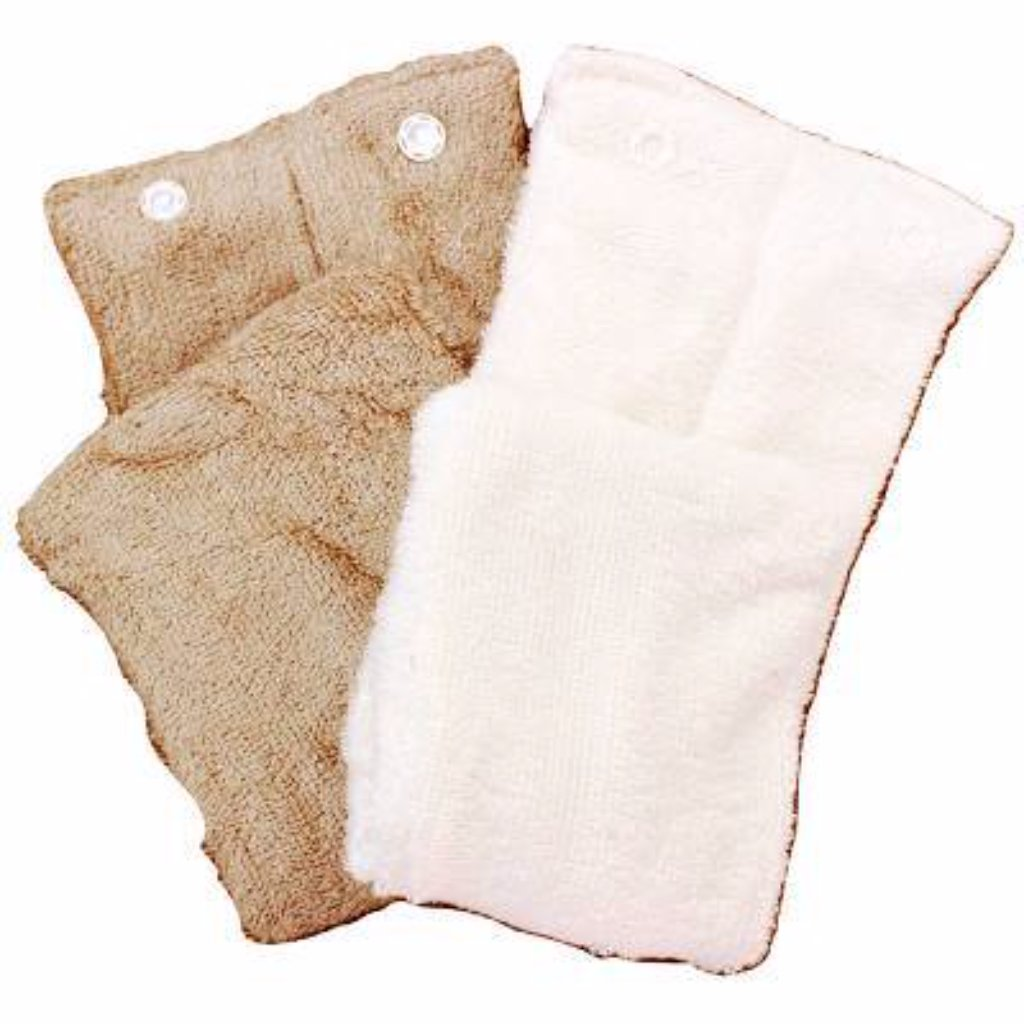 Bamboo all in one nappy inserts - Razberry Kids Co