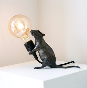 'Rat giving light' (Standing)