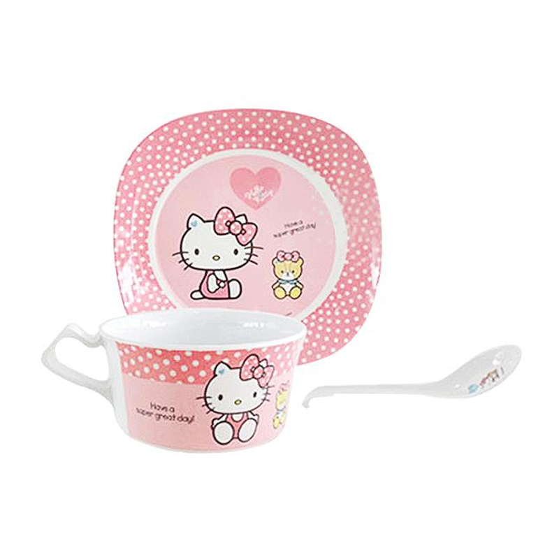 Hello Kitty Great Day Dinner Set 3pcs