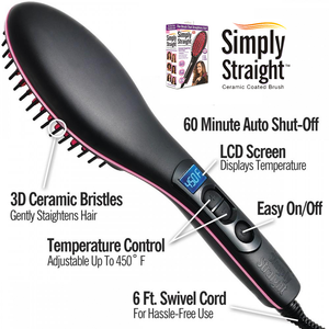 Simply Straight Ceramic Hair Straightener