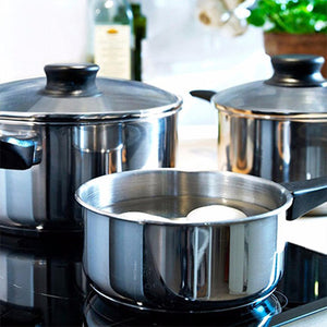IKEA Annons 5pcs Stainless Steel Cookware Set