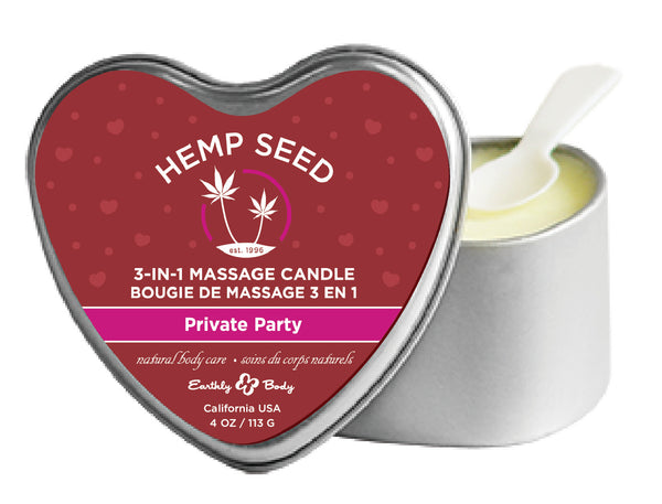 3 - in - 1 - Massage Candle - Private Party EB-HSCV014