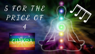 Pay for 4 and get the 5th FREE - Group Chakra Health Check Music and Sound Balance