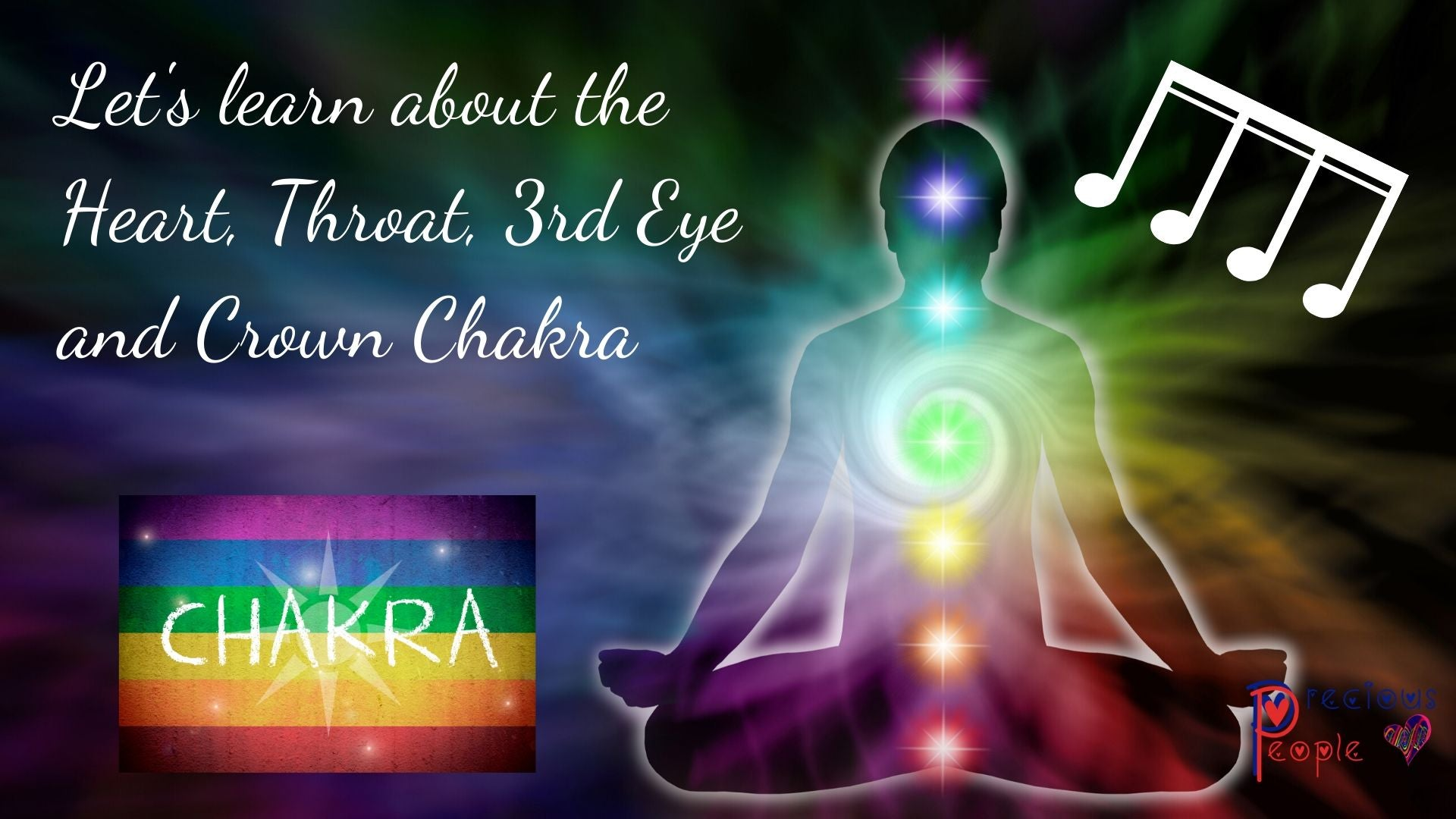 Group Chakra Health Chat and Sound Balance - Heart, Throat, 3rd Eye and Crown Chakra