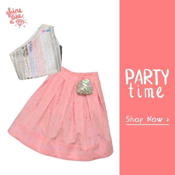 Partywear Dresses for Girls