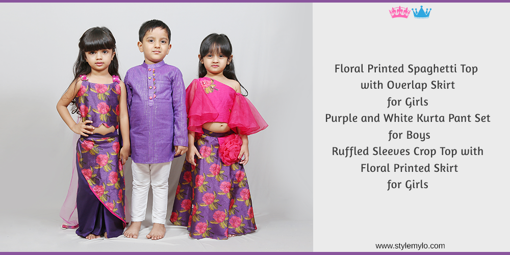 Sibling Dresses | Matching Sibling Dresses for Brother Sister