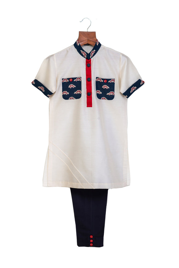 Car print Kurta with Pants