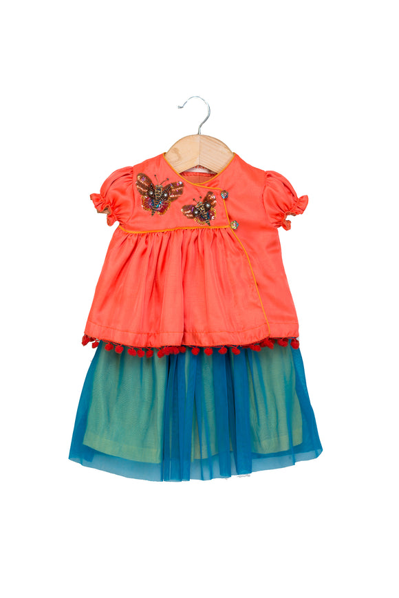 Butterfly top with Net Skirt