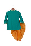 Gota angrakha with tassels and Dhoti