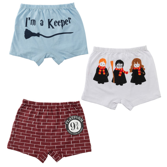 Boys muggle born boxer shorts - Sets of 3