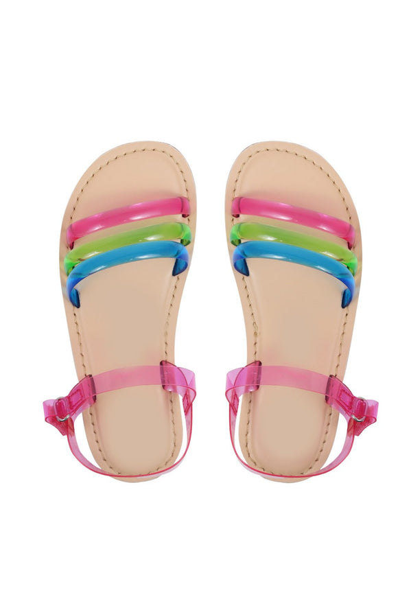 Raindrop pink sandals! Footwear for girls, Flip flop for girls, designer sandals for girls, belly shoes for girls, designer kolhapuri flats