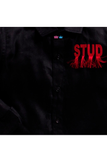Black stud shirt