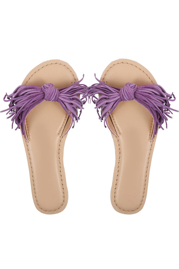 Waterfall purple sandals! Footwear for girls, Flip flop for girls, designer sandals for girls, belly shoes for girls, designer kolhapuri flats
