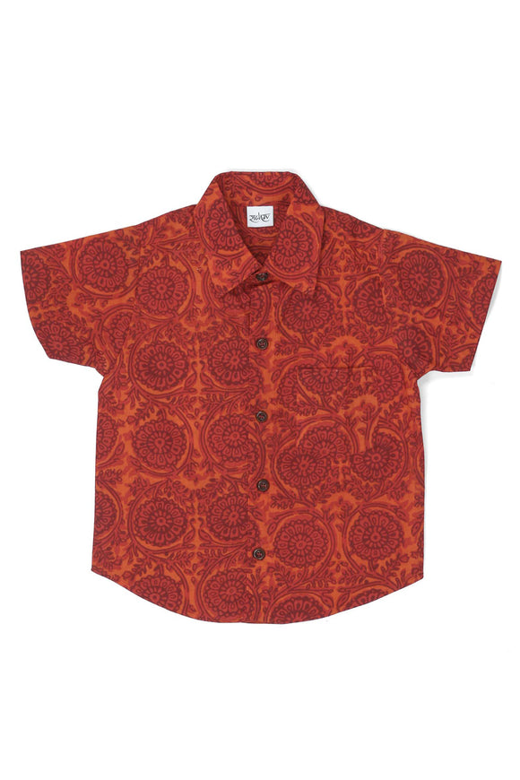 Textile Printed Cotton Shirt