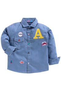 Denim party shirt