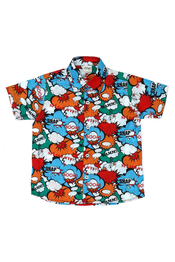 Superhero Cotton Shirt
