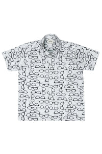 Specs Printed Cotton Shirt
