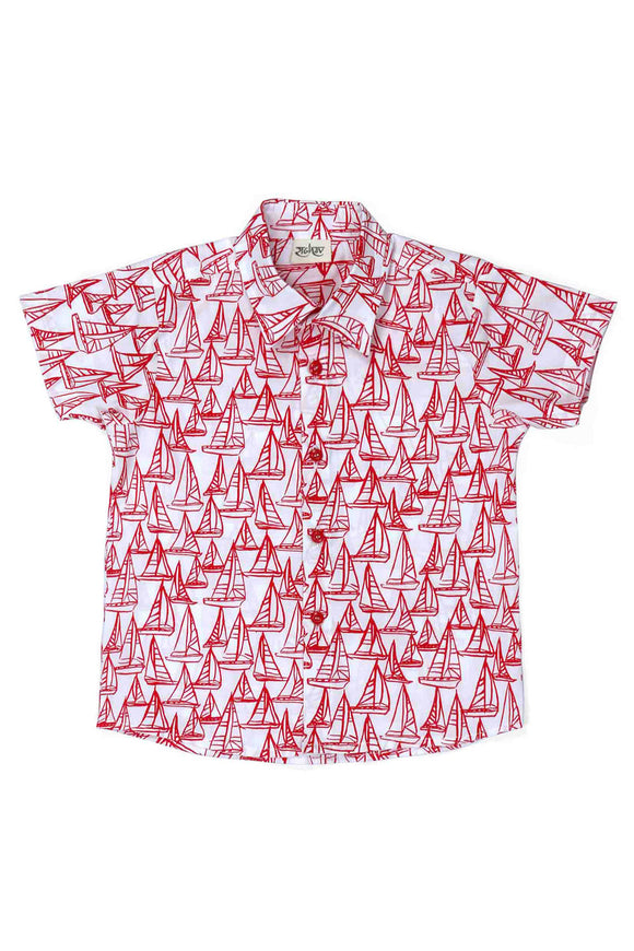 Sailor Cotton Printed Shirt