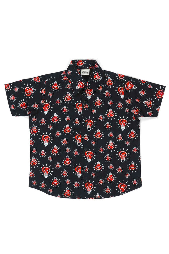 Glow On Cotton Printed Shirt
