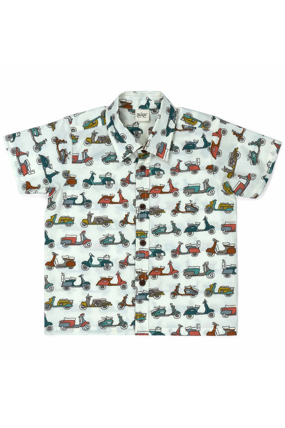 Ride On Cotton Shirt